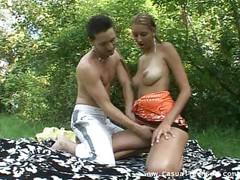 Chick rimmed hard outdoors<br>