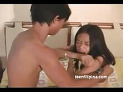 Young Asian Filipina Teen Maul Sucks & Fucks
