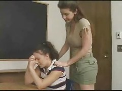 Schoolgirl gets anally