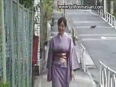 Asian sexy mature bigtits in kimono sex<br>