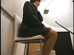 Young apprentice sex at job