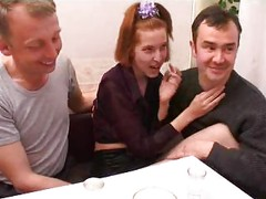 Russian Drunk Orgy With