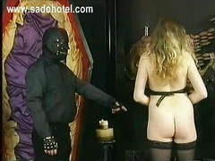 Horny slave with beautiful