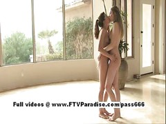 Anna and Amber from ftv girls,  lovely lesbian babes teasing<br>