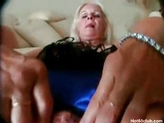 Blonde mature amateur milf