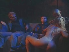 Blonde Stripper wants black guys