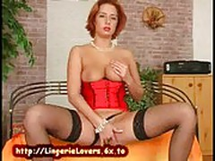 Stockings Pussy Pleasure