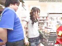 Asian Sucks Dick in a Grocery Store - assian ass<br>