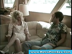 Blonde seduces guy and gets