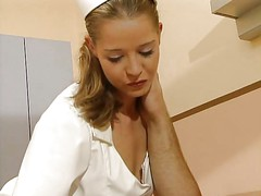 Tyra Misoux  German Pornstar as a hot nurse