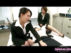 Busty Office Lady Getting Her