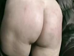 Horny slave nun kneeling on a