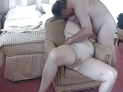 Mature Exhibitionist Couple Masturbating, Petting and Sucking