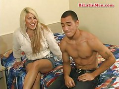 Hot young bisexual latino