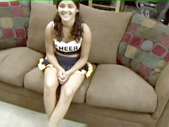 Sexing A Latin Cheerleader In Her Ass