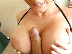 Sophie Dee and plenty of cum