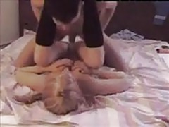 Blonde Webcam Babe Dick Sucking And Dogstyle Fucking