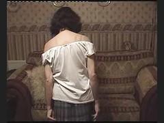 Grandma Slowly Strips