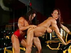Muscle Girl Lesbians<br>