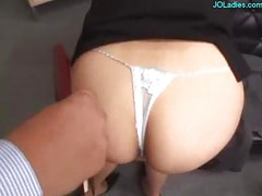 Office Lady Licked Fingered
