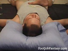 facesitting handjob<br>