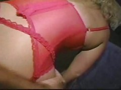 mature blonde douable teamed