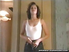 Sexy Girl VHS Amateur Strip