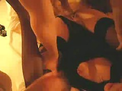 Hot hungarian amateur wife fucking with two hard dicks