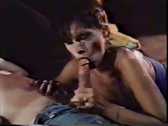 Retro-Hairy bush Milfs fuck a