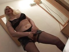 Busty Blonde Mature in