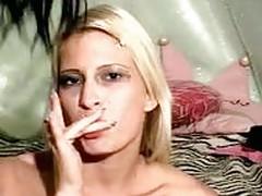Blonde and Brunette Lesbians