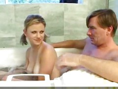 Teen Daugther and daddy have