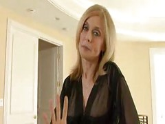 Legendary MATURE MOM Nina Hartley is a sex freak ( amateur mother milf granny cumshot blonde )<br>