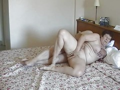 Mature Couple masturbating