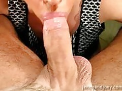 She Sucks Out His Cum