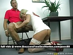 A handjob and blowjob