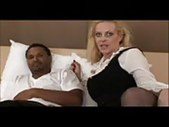 Sexy mom taking big black dick