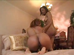 Beautiful Ebony Lesbians Simmone and Leona giving each other some love ( amateur mature mom mother milf black toys dildo MadMaxxx )<br>