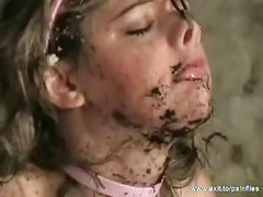 Bizarre BDSM Humiliation in the Mud<br>