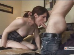 Brunette Shemale Amy Sucks