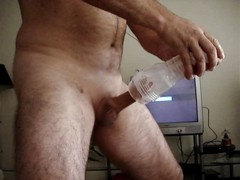 Fleshlight with GF watching