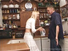 British MILF with plumber