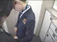 American Stewardess Handjob - Part 5