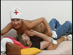 Crazy And Sexy Nurse Seducing Her Patient In Hospital