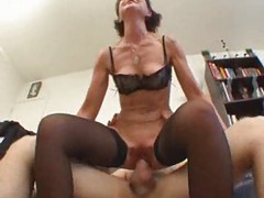 French mature sodomized in