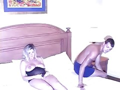 Pregnant Slut Wife Analyzed by Blacks in front of Hubby