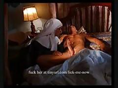 Nun gets her ass fucked