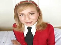 Chastity Lynne Schoolgirl POV