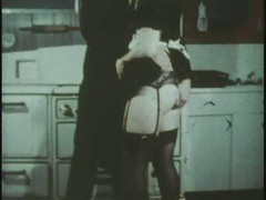 Maid sucking and fucking (oral creampie)