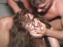 horny slave fucked